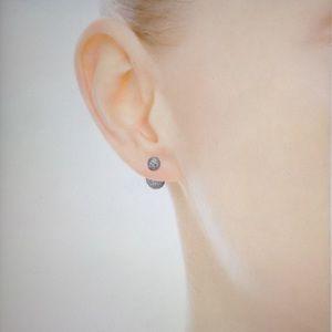 1b6da6f080f Pandora Jewelry - Pandora Pave Drop Stud Silver Earrings NEW