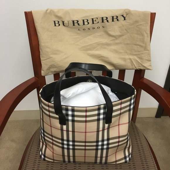 6a8bd7a64848 Burberry Handbags - Authentic Burberry Nova Check Tote  Price firm