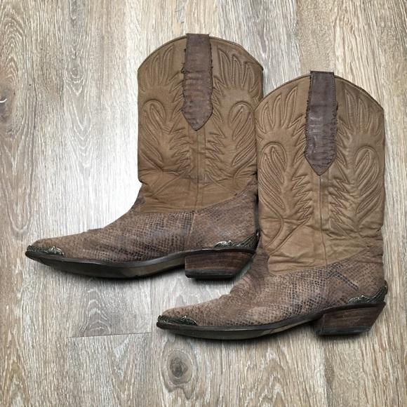 ea46d12d578ff Zodiac cowboy boots 7 1/2 metal detailing
