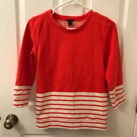 J. Crew Tops - J. Crew Sweatshirt