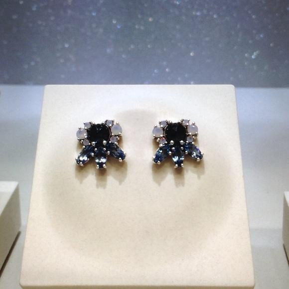 3dd591de0 Pandora Jewelry   Patterns Of Frost Silver Earrings New   Poshmark