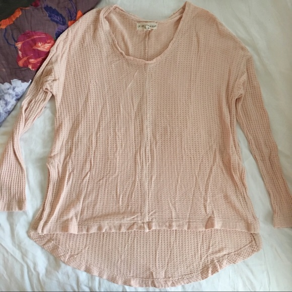 Tops - Pink Long Sleeve Thermal