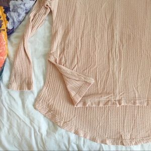 Tops - Pink Long Sleeve Thermal