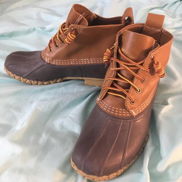 Ll Bean 6 Bean Boots With Custom Lacing