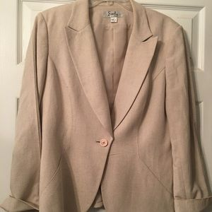 Other - Emily Linen/Rayon Khaki Suit