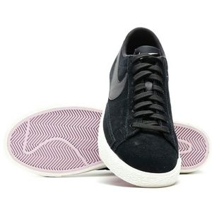 1558ae26d0d Nike Shoes - NWT Nike Blazer Low Top Black Suede