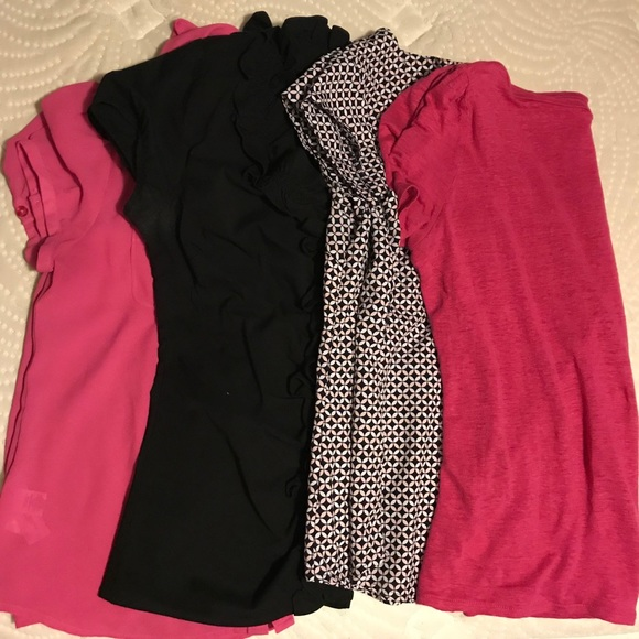 LOFT Tops - XS Short Sleeve Blouse Bundle