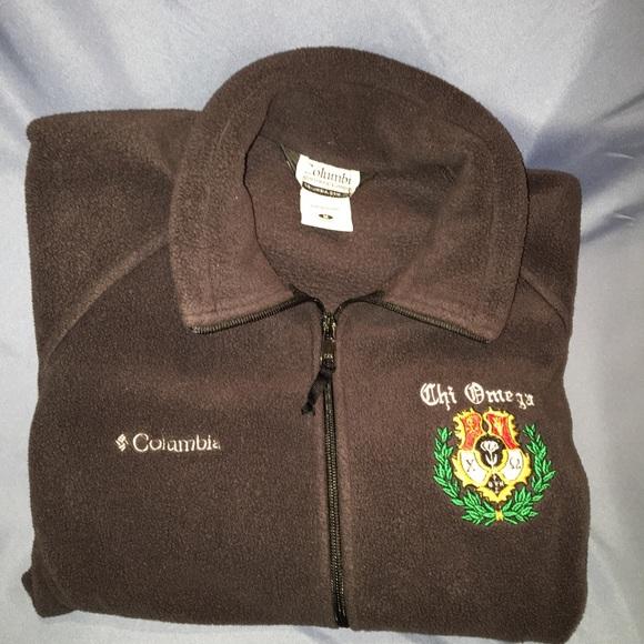 Warm Columbia Women's Chi Omega Crest Jacket