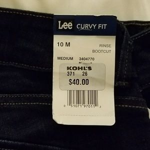 cf3d9778ac0 Lee Jeans - LEE Curvy Fit Dark Wash Jeans No Gap Modern Series