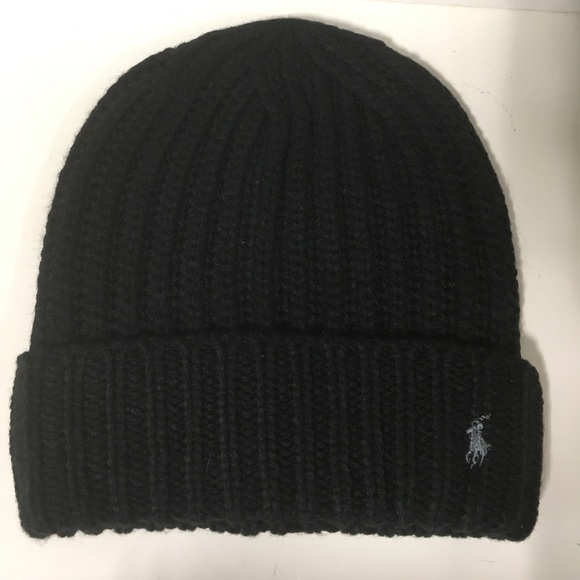 8c88d337f09 Polo Ralph Lauren Men s Ribbed Chucky Beanie