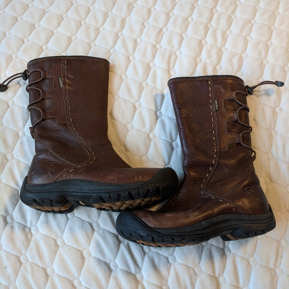 97e321c2452 Keen Shoes | Brown Leather Winthrop Wool Size 55 | Poshmark