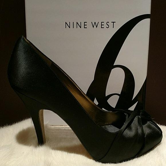 2a93fa4fe922 Nine West Shoes | New Satin Pumps | Poshmark