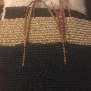 Merona Straw Tote Bag in Various Colors