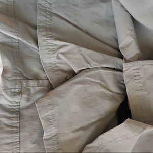 Royal Robbins Shorts - Royal Robbins Grey Skort