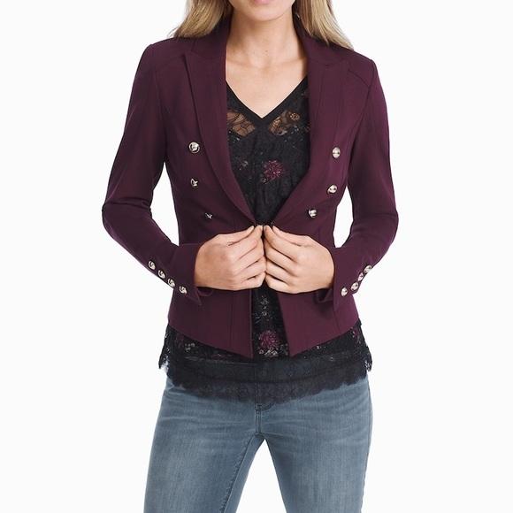 White House Black Market Jackets & Blazers - |WHBM| Petite Ponte Blazer Jacket