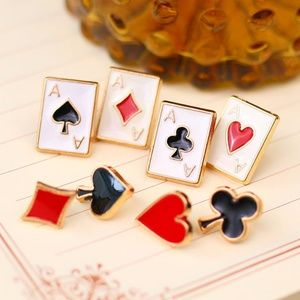 Jewelry - Trendy Poker Enamel Lapel Pins