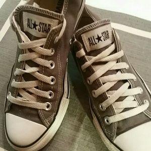 Slate Grey Converse Chuck Taylors