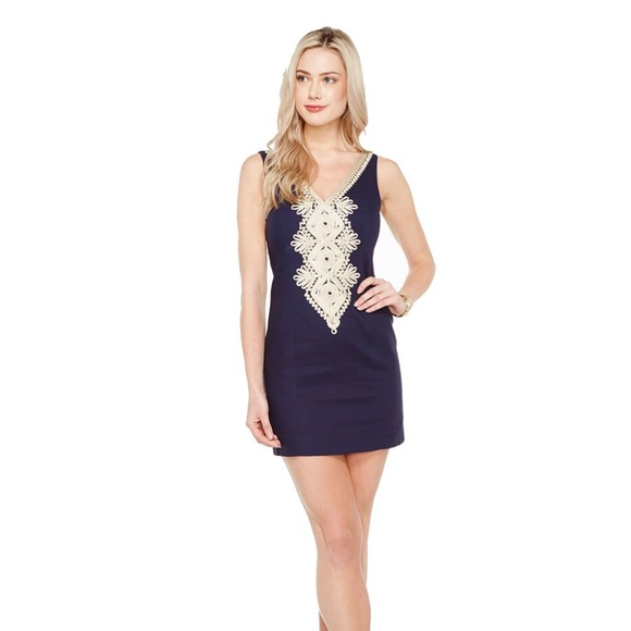 7221e6121285de Lilly Pulitzer Dresses & Skirts - Lilly Pulitzer Junie shift dress size 16