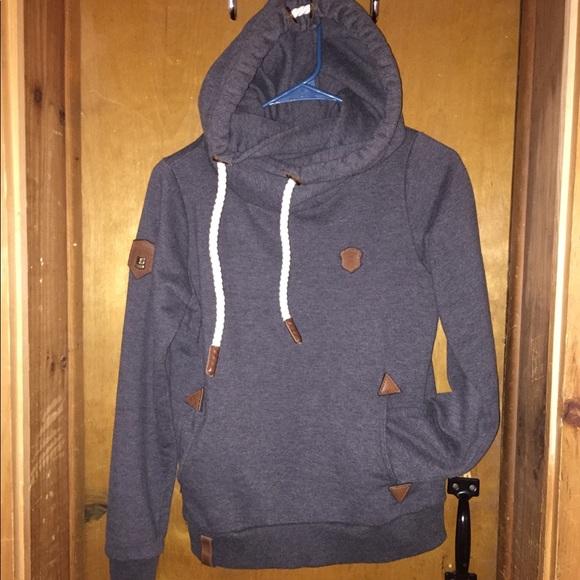 Naketano Sweaters   Darth Viii Anthracite Melange Hoodie   Poshmark a070c0aa4d