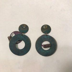 Vintage Jewelry - Vintage 90's earrings