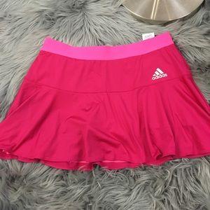 Adidas glitter band adizero skirt pink