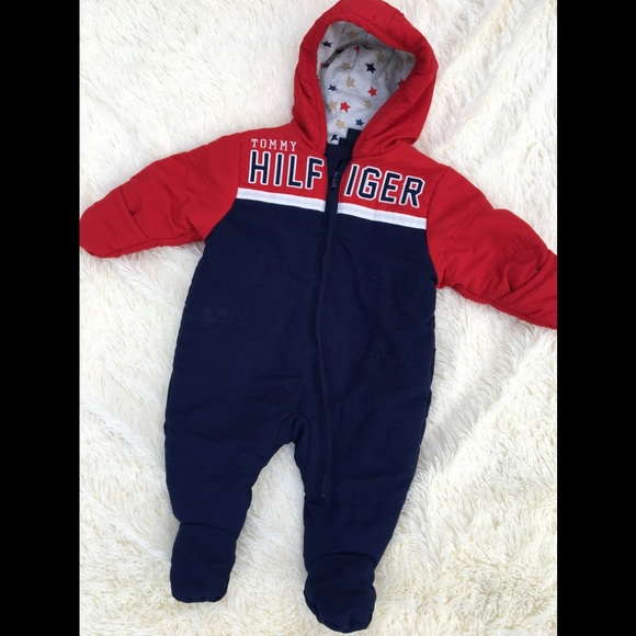 Tommy Hilfiger Baby Boys Baby Boys Half-Zip Sweatshirt