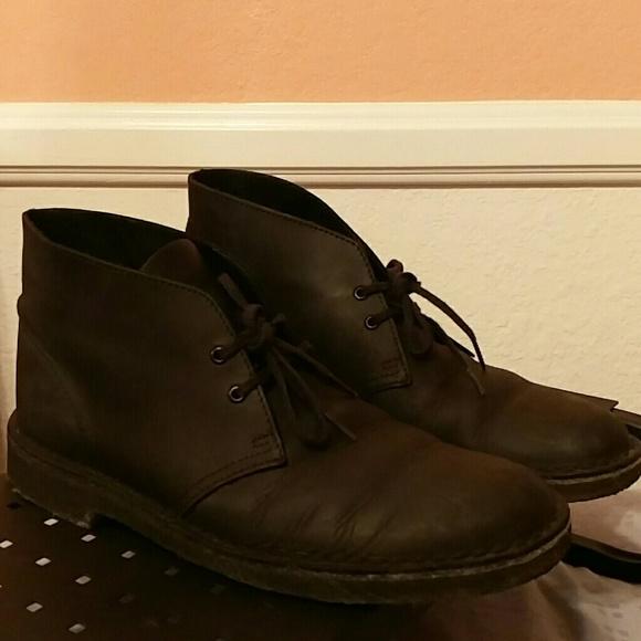 4ff5fbfdb152 Clarks Other - Clarks Desert Boot Black Beeswax Leather Men s 7.0