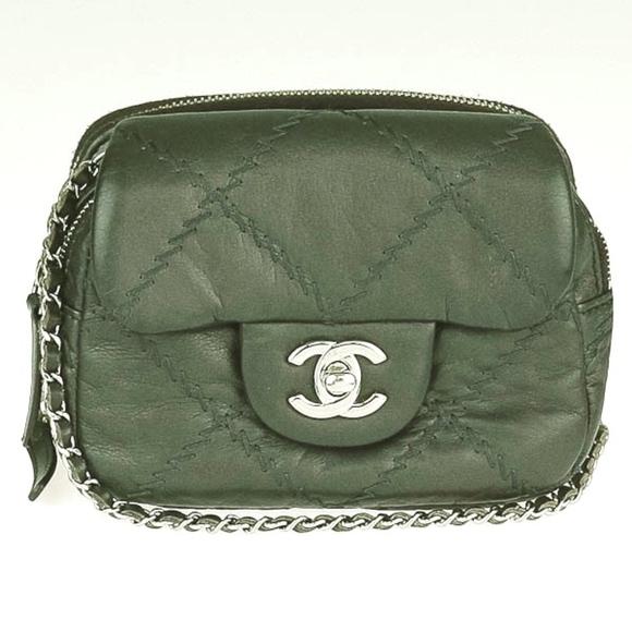 7f9cea5cd3a7 Chanel Handbags - CHANEL Calfskin Ultimate Stitch Mini Flap WOC Bag