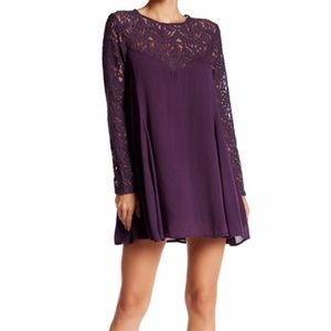 NWT antgropologie anama OPEN BACK LACE PANEL DRESS