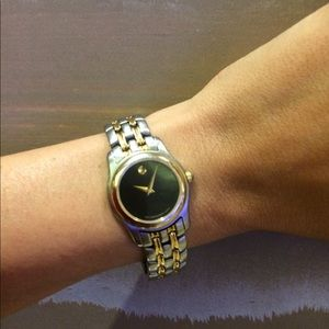 Vintage Authentic movado watch  & works!