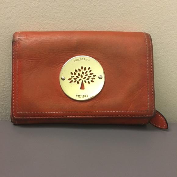b09161f7b444 Mulberry Wallet Orange. M 59fd248ed14d7bd153065aed