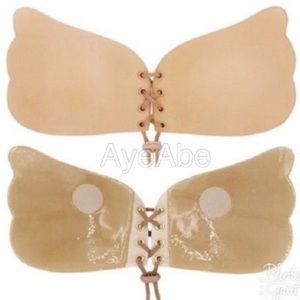 Other - Nude Adhesive Seamless Sticky Bra NWOT