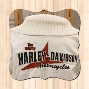 ✅XL Harley-Davidson® Rib Knit Riding Jacket EUC