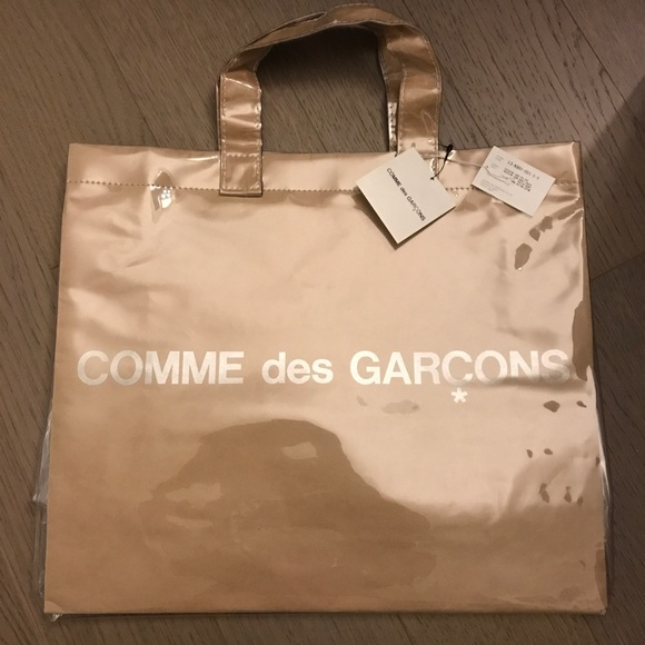 377dd78e4603 Comme des Garcons Bags | Vinyl Tote Bag From Met | Poshmark