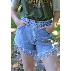VTG Highwaisted Jean Shorts