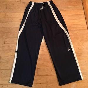 b6d263572ac7b8 Jordan Pants - Nike Men s Jordan Warm-Up Pants Navy White