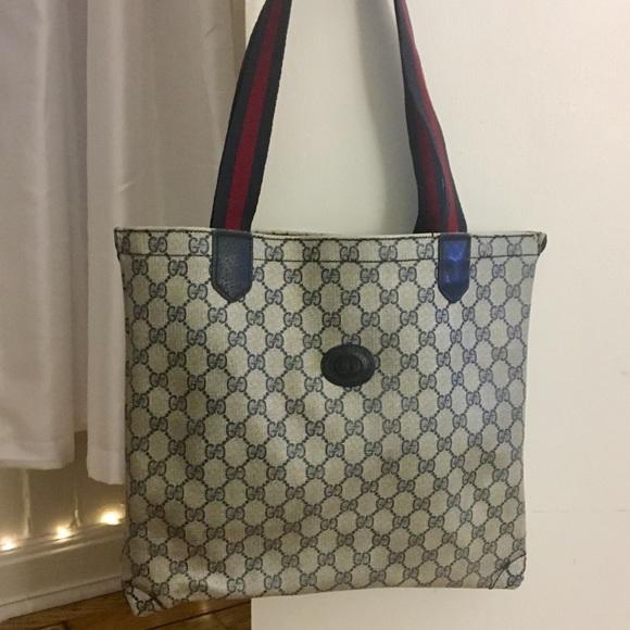 128cf873909 Gucci Handbags - Authentic Vintage Gucci Tote