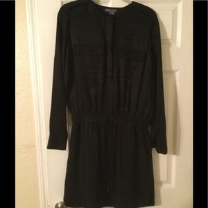 Beautiful black Vince dress size Small.