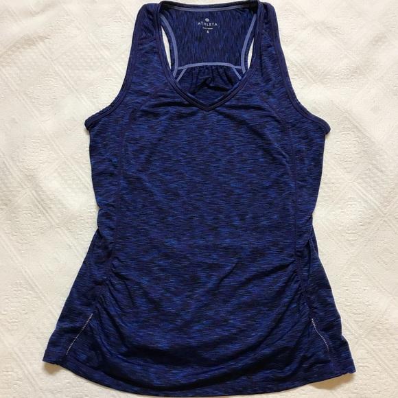 a7d4343182 Athleta Tops | Womens Small Yoga Running Tank Top Purple | Poshmark