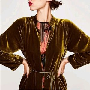 Jackets & Blazers - ⭐️5 Star Fave Green Velvet Kimono Duster Jacket