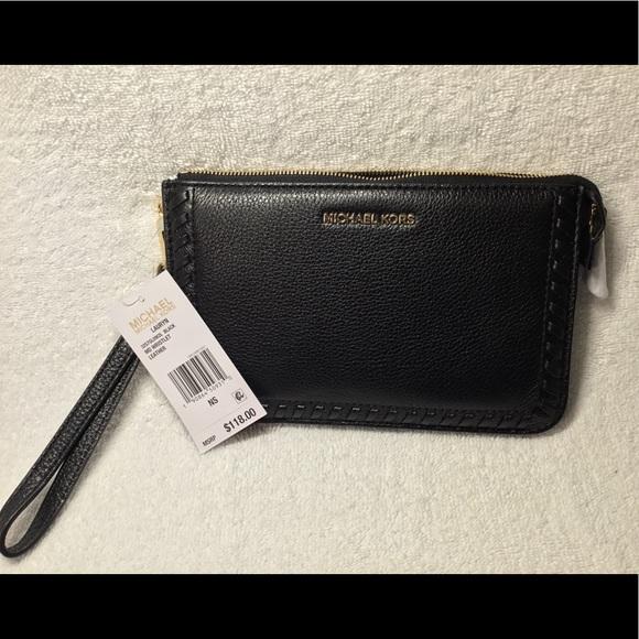 d37dd13f58ed0e KORS Michael Kors Bags | Nwt Mkors Lauryn Acorn Wristlet Leather ...