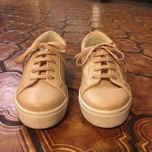 Topshop Women's light pink sneakers size 7.5