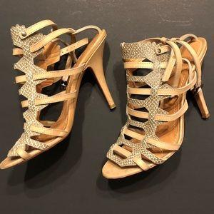 Givenchy snakeskin heels