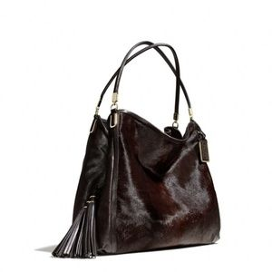 Gorgeous Collectors Coach handbag in haircalf