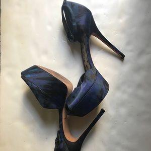 5e1c6f5f37807 Sam Edelman Shoes - Sam Edelman Cheetah Print Peep Toe Platform Heels