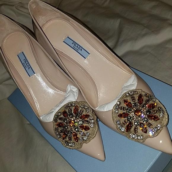 check out f8a7a e3224 PRADA Calzature Donna Vernice 2 Boutique