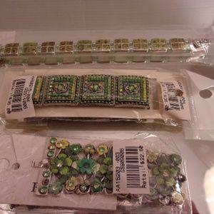 NWTS $69 RETAIL 3 DESIGNER BRACELETS DA VINCI/LURE