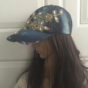 Accessories - new Women cap, jeans cap, jeans Hat