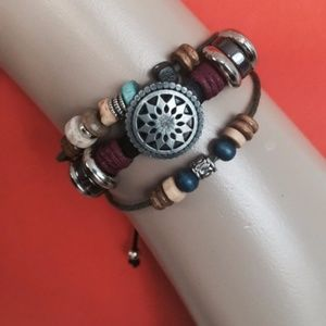 Jewelry - New Boho leather bracelet, gypsy bracelet, Unisex
