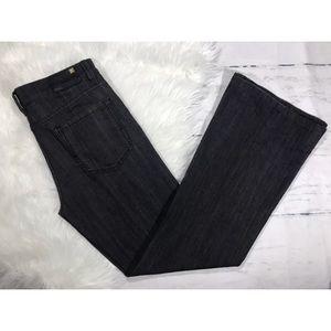 {BCBG MAXAZRIA}Tanya wide leg jeans black rinse 29